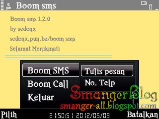 New Boom SMS S60v3 Indo by sedenx
